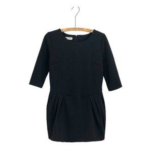 Structured Black Dress Cocktail Party Curvy